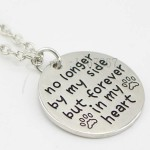 No Longer By My Side, Forever in My Heart Necklace