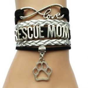 Rescue Mom Bracelet -Jewelry for Animal Lovers
