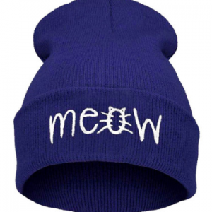 Blue Meow Hat