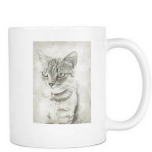 "Cat Coffee Mugs - ""Nick"""