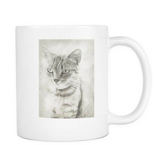 "Cat Coffee Mugs - ""Nick"""